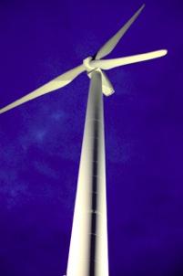 県内初!風車のライトアップ!