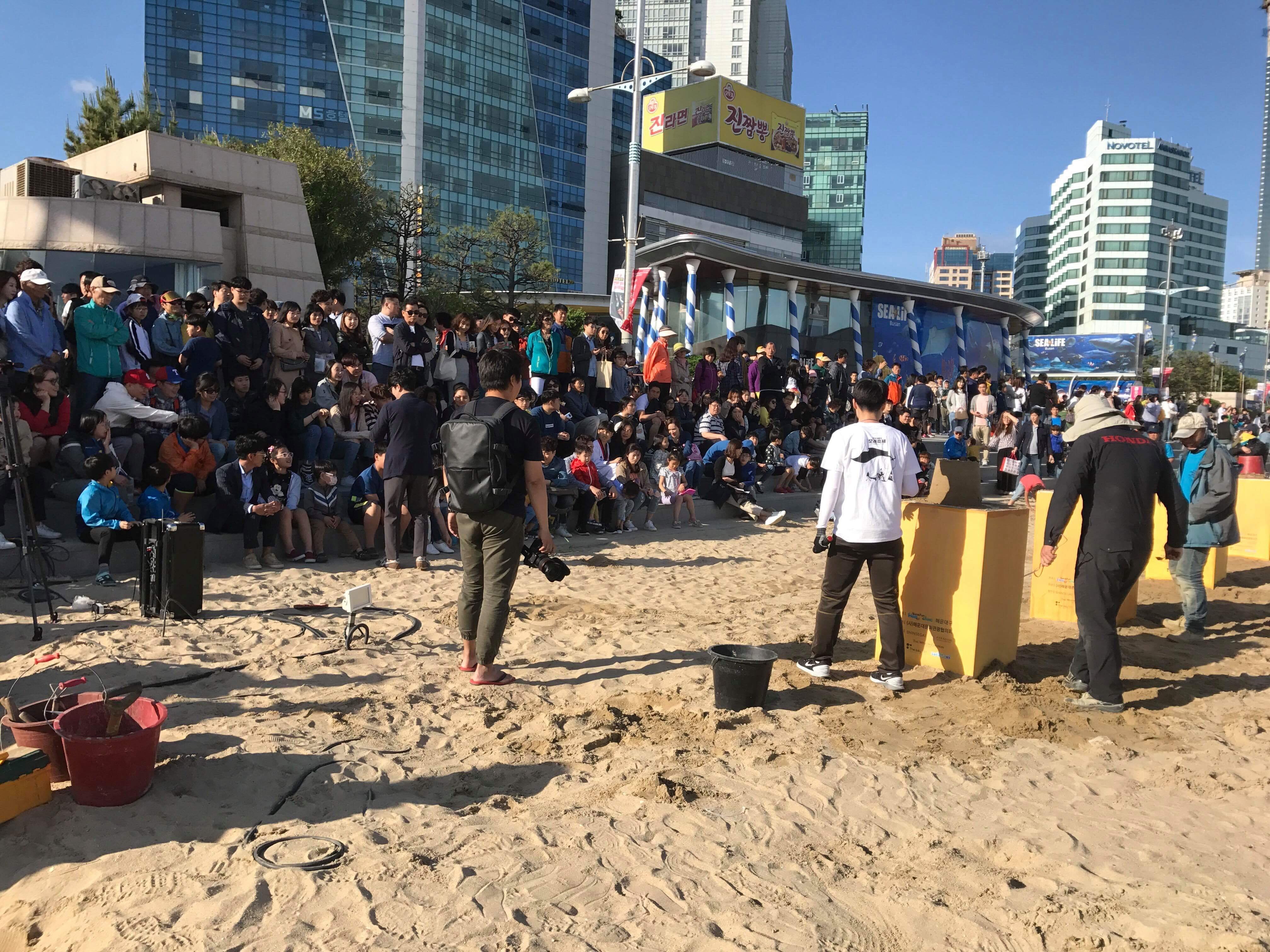 砂像制作トーナメント